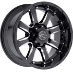17in Truck Rims and Tires Package