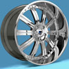 Image of ASANTI 3 PIECE AF134 CHROME wheel