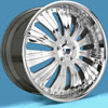 Image of ASANTI 3 PIECE AF136 CHROME wheel