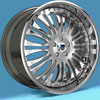 Image of ASANTI 3 PIECE AF137 CHROME wheel