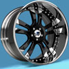 Image of ASANTI 3 PIECE AF142 BLACK wheel