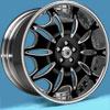 Image of ASANTI 3 PIECE AF401 BLACK wheel