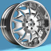 Image of ASANTI 3 PIECE AF401 CHROME wheel