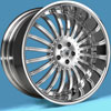Image of ASANTI 3 PIECE AF402 CHROME wheel