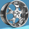 Image of ASANTI 3 PIECE AF403 CHROME wheel