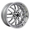 Image of TORO 9002 SILVER MACHINED wheel