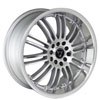 Image of TORO 9004 SILVER wheel