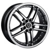 Image of TORO 9005 BLACK MACHINED wheel
