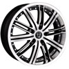 Image of TORO 9031 BLACK MACHINED STRIPE wheel