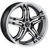 Image of TORO 9033 BLACK MACHINED wheel