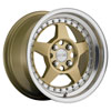 Image of MRR FF5 GOLD wheel