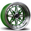 Image of AVID.1 AV07 GREEN wheel