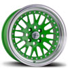 Image of AVID.1 AV12 GREEN wheel