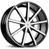 Image of VERDE CONTRA BLACK MACHINED wheel