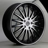 Image of VERSANTE 213 BLACK MACHINED wheel
