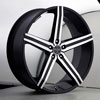 Image of VERSANTE 228 BLACK MACHINED 5 SPOKE wheel