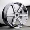 Image of VERSANTE 228 CHROME 6 SPOKE wheel