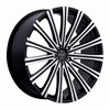 Image of VERSANTE 230 BLACK MACHINED 5 LUG wheel
