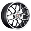 Image of BAVARIA BC7M CONCAVE MATTE BLACK MACHINED CHR LIP wheel