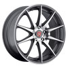 Image of BAVARIA BC10 CONCAVE CHARCOAL MACHINED wheel