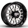 Image of RED DIRT ROAD BOSS SATIN BLACK MACHINED wheel