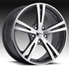Image of VISION XCITE GUNMETAL wheel