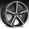 Image of SPORT CONCEPTS 859 BLACK MACHINED wheel