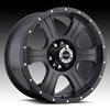 Image of VISION OFFROAD ASSASSIN MATTE BLACK RIVETS wheel