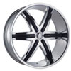 Image of DCENTI DW9B CHROME wheel