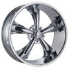 Image of DCENTI DW19A CHROME wheel