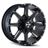 Image of CALIOFFROAD BUSTED BLACK wheel