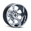 Image of CALIOFFROAD BRUTAL DUALLY CHROME FRONT wheel