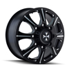 Image of CALIOFFROAD BRUTAL DUALLY BLACK REAR wheel