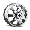 Image of CALIOFFROAD BRUTAL DUALLY CHROME REAR wheel