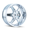 Image of DIP D39 WICKED CHROME wheel