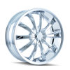 Image of DIP D66 SLACK CHROME wheel