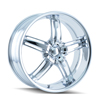 Image of DIP D68 AMBUSH CHROME wheel