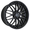 Image of CURVA CONCEPTS C3 MATTE BLACK wheel