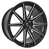 Image of CURVA CONCEPTS C49 BLACK MILLED wheel