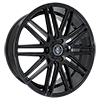 Image of CURVA CONCEPTS C50 BLACK  wheel