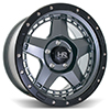 Image of HARDROCK H101 BLACK wheel