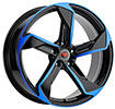 Image of REVOLUTION RACING R20 BLACK BLUE wheel