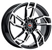 Image of REVOLUTION RACING R22 BLACK MACHINED wheel
