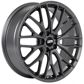 STR RACING STR 615 GUNMETAL - Gunmetal Finish