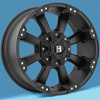 Image of SPECIALS BLOWOUT BALLISTIC Morax Wheels with Nitto Tires (For Ford) wheel