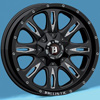 Image of SPECIALS BLOWOUT BALLISTIC Scythe Wheels with Nitto Tires (For Ford) wheel