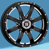 Image of SPECIALS BLOWOUT BALLISTIC Anvil Wheels with Falken Tires (For Chevy) wheel