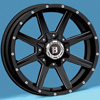 Image of SPECIALS BLOWOUT BALLISTIC Razorback Rims with Falken Tires (For Chevy) wheel