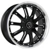 Image of TORO TR1010 BLACK SS LIP wheel