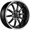 Image of VERTINI MILANO MATTE BLACK wheel